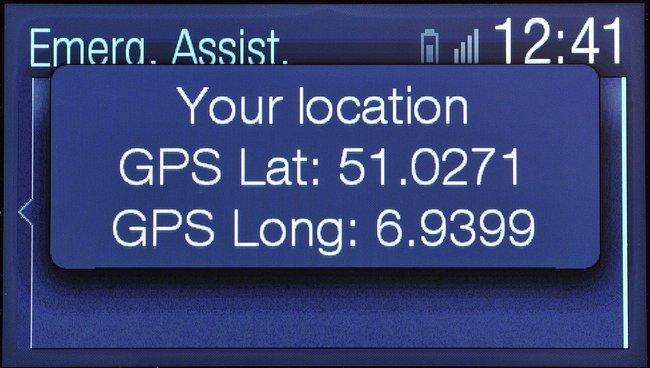 Sistema de llamadas de emergencia Ford
