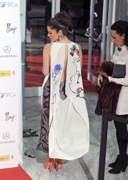 Espalda Juana Acosta Dior