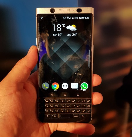 Blackberry Keyone Primeras Impresiones Mexico 2
