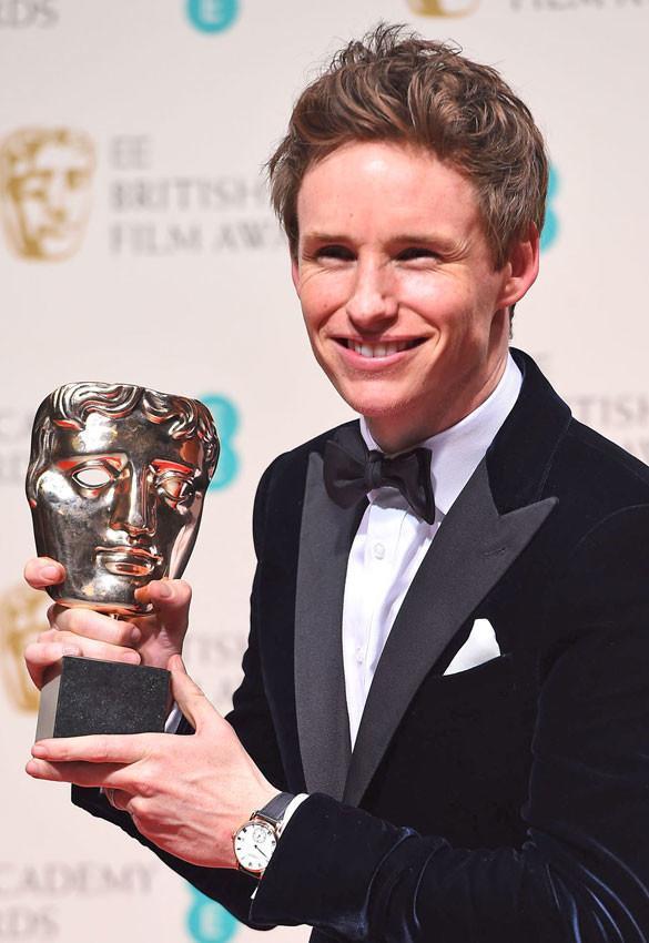 Eddie Redmayne en los Premios Bafta