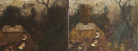Bruegel detalle Vino San martin