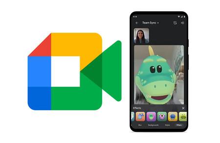 Google Meet estrena los filtros, máscaras y estilos de Google Duo