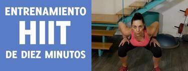 [En vídeo] Entrenamiento HIIT en 10 minutos para trabajar piernas y glúteos en casa