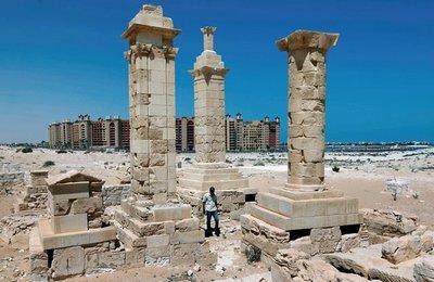 Leukaspis, una ciudad grecorromana en la costa egipcia
