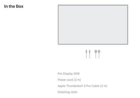 66e1ef0d1b0 Apple no indicó hasta el final que ese llamativo soporte se vendía de forma  separada: el monitor Pro Display XDR cuesta 4.999 dólares, aunque hay una  ...