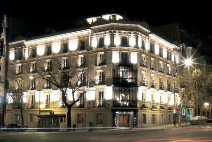 Hotel Adler, un lujo en el centro de Madrid