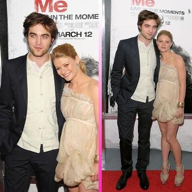 Robert Pattinson presenta 'Recuérdame' muy bien acompañado