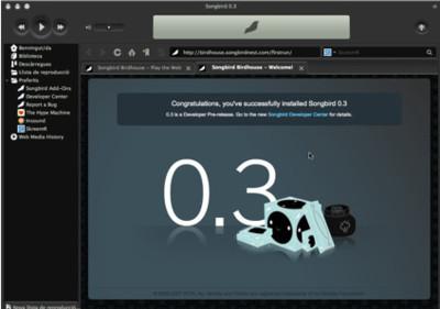 Songbird 0.3 pre-release, haciéndose un hueco en el nido