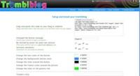 Trombiblog, permite a tus visitantes sacarse una foto a través de un widget desde tu web