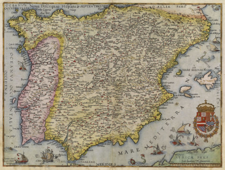 Nova Descriptio Hispaniae 1578