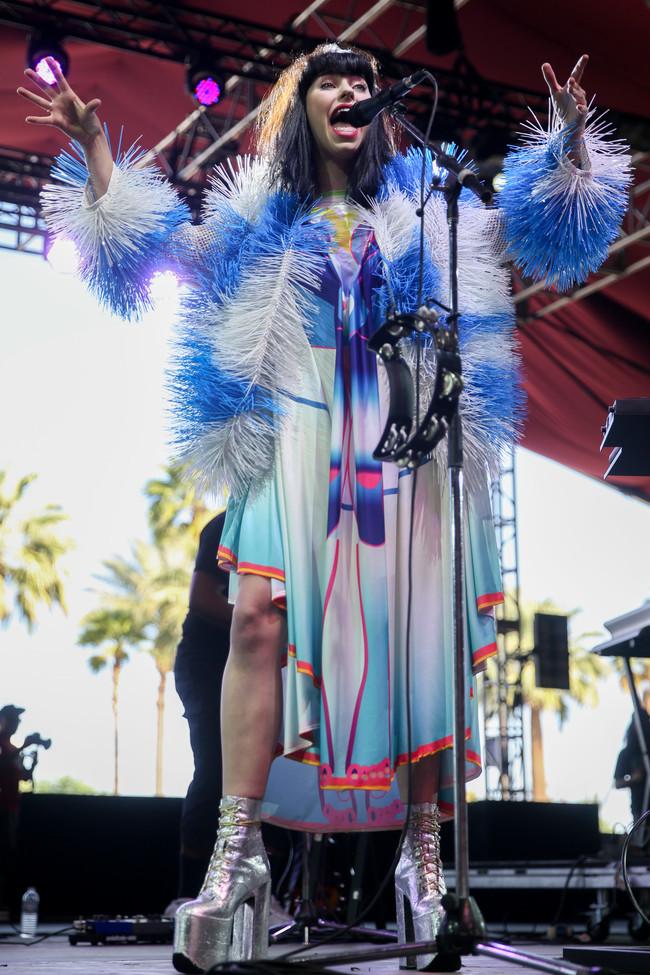 coachella looks cantantes celebrities Kimbra 2015