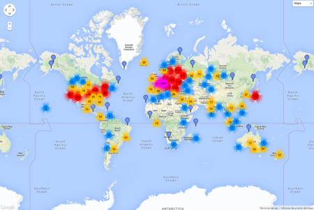 La popularidad del anonimato de Tor es asombrosa: este mapa lo demuestra
