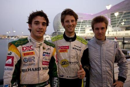 GP2 Asia Series Abu Dhabi: Romain Grosjean se lleva la primera pole position del año