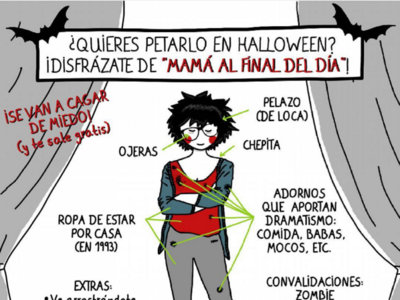 """Si aún no sabes de qué disfrazarte en Halloween no lo dudes: de """"Mamá al final del día"""""""