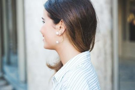 Las orejas se visten con perlas... Dobles