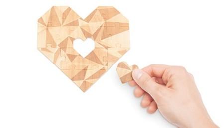 Bueno, bonito y barato: Puzzle Corazón