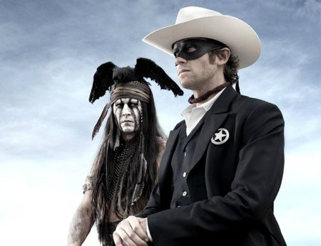 Johnny Depp es Tonto