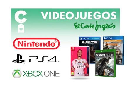 31 juegos para PC, PlayStation 4, XBox One y Nintendo Switch, por menos de 20 euros, en las rebajas de El Corte Inglés
