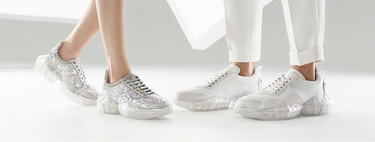 Futurismo a todo lujo: Jimmy Choo y sus sneakers 'diamante' ponen el detalle glam en nuestros looks