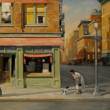 El realismo romántico de Sally Storch, una artista que nos conecta con la tranquilidad de lo cotidiano con su cálida luz