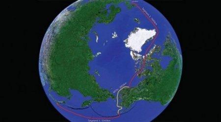El deshielo del Polo Norte permitirá desplegar nuevos cables de fibra óptica entre Europa y Asia