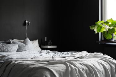 ¿Pondrías paredes negras en tu casa?