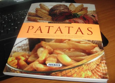 Patatas, colección En la Cocina. Libro