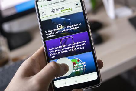 Tres aplicaciones para usar un móvil de pantalla grande con una sola mano
