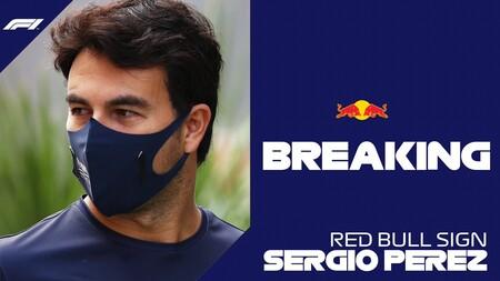 ¡Checo Pérez correrá para Red Bull en 2021! El mexicano se queda en la Fórmula 1