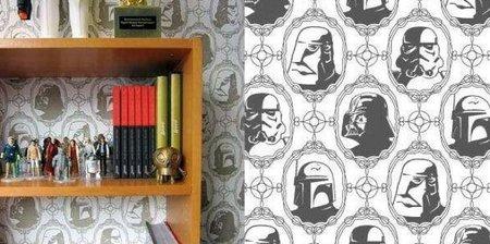 Papel pintado de Darth Vader y compañía