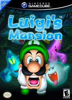 Luigis Mansion portada