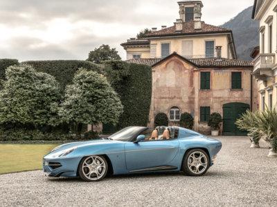 """Viendo el Alfa Romeo Disco Volante Spyder de Touring solo podrás decir: """"Bella macchina"""""""