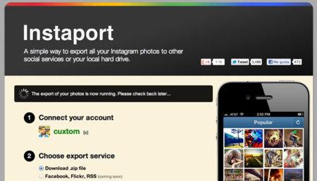 Cómo exportar tus fotos de Instagram a tu disco duro