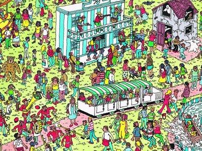 Sólo un nerd podría buscar la mejor estrategia para buscar a Wally en la ciencia computacional