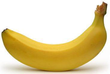 Plátano para cargar energías antes de ir al gimnasio