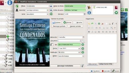 Calibre rediseña la interfaz de la edición de metadatos