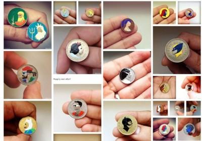 El toque más pop llega a nuestras monedas de la mano de Andre Levy