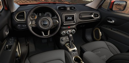2017 Renegade interior