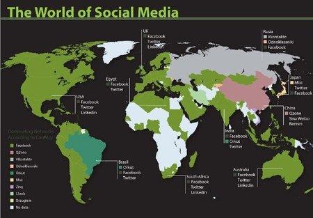 Infografía: Crecimiento y uso de las redes sociales en el mundo