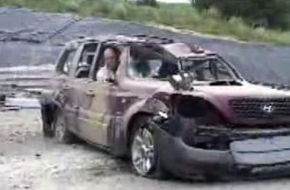 Como ser cruel con un Hyundai Terracan