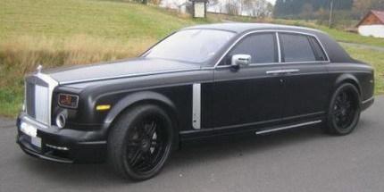 Rolls-Royce Phantom Conquistador por Mansory