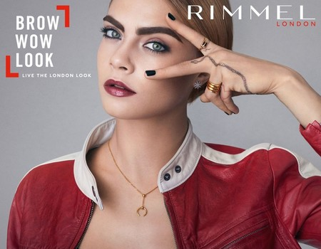Cara Delevingne Rimmel London Brow Shake Filling Powder
