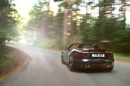 Jaguar f-type 3/4