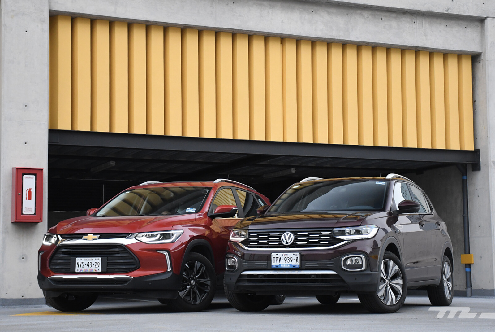 Foto de Chevrolet Tracker vs. Volkswagen T-Cross (comparativa) (1/29)