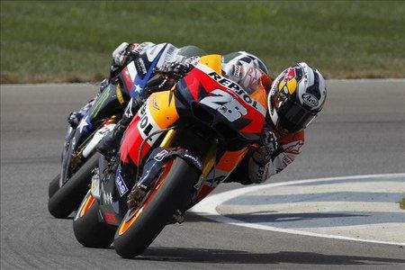 MotoGP Indianápolis 2010: calor, caídas, aburrimiento y los galones en el Repsol Honda