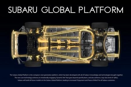 Subaru presenta su nueva plataforma global