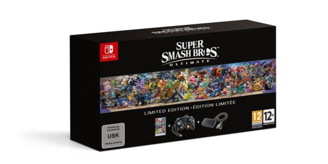 Super Smash Bros Ultimate Edicion Limitada