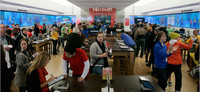 Microsoft estudia la posibilidad de traer sus tiendas oficiales a Europa