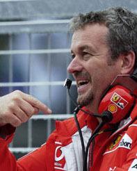 Stepney y el polvo blanco en los depósitos del Ferrari