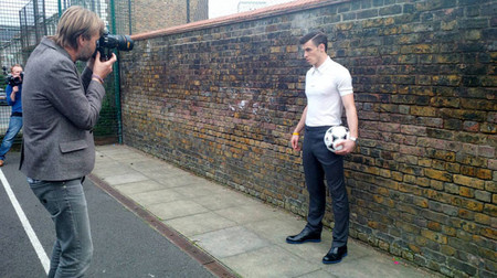 Gareth Bale, portada de Esquire UK